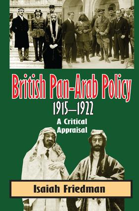 British Pan-Arab Policy, 1915-1922