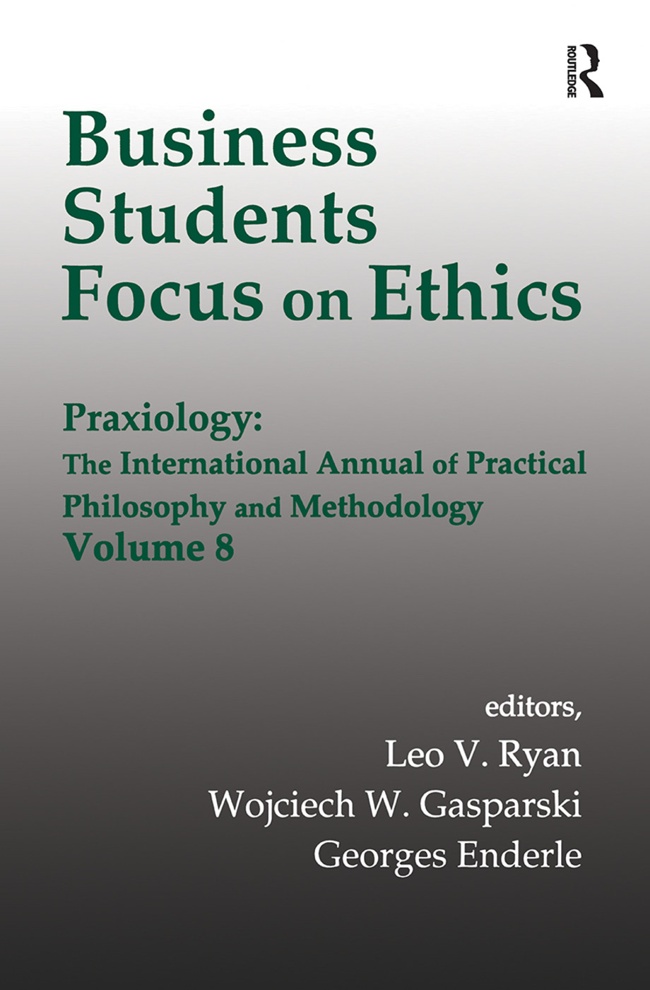 Business Students Focus on Ethics