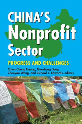 China's Nonprofit Sector: Progress and Challenges, 1st Edition (Paperback) book cover