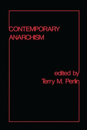 Contemporary Anarchism book cover