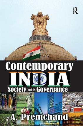Contemporary India: Society and Its Governance, 1st Edition (Paperback) book cover