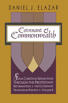 Covenant and Commonwealth: 1st Edition (Paperback) book cover