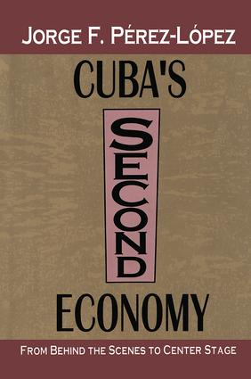 Cuba's Second Economy: From behind the Scenes to Center Stage, 1st Edition (Paperback) book cover