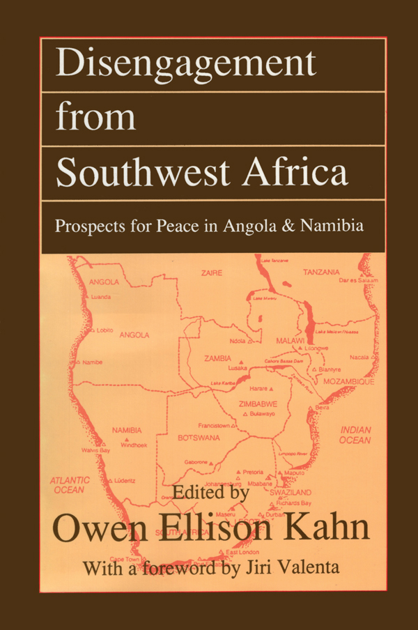 Disengagement from Southwest Africa