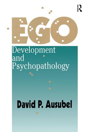 Ego Development and Psychopathology: 1st Edition (Paperback) book cover