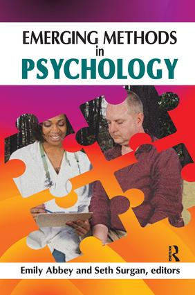 Emerging Methods in Psychology: 1st Edition (Paperback) book cover
