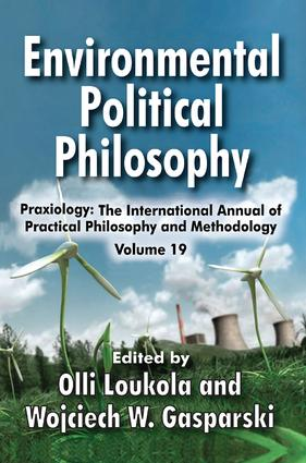 Environmental Political Philosophy book cover