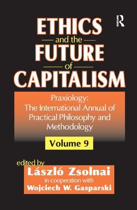 Ethics and the Future of Capitalism: 1st Edition (Paperback) book cover