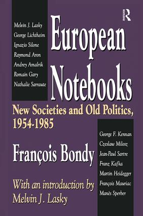 European Notebooks: New Societies and Old Politics, 1954-1985 book cover