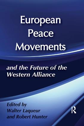 European Peace Movements and the Future of the Western Alliance book cover