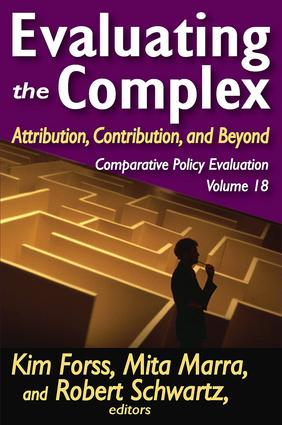 Evaluating the Complex: Attribution, Contribution and Beyond, 1st Edition (Paperback) book cover