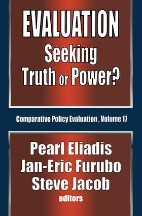 Evaluation: Seeking Truth or Power?, 1st Edition (Paperback) book cover