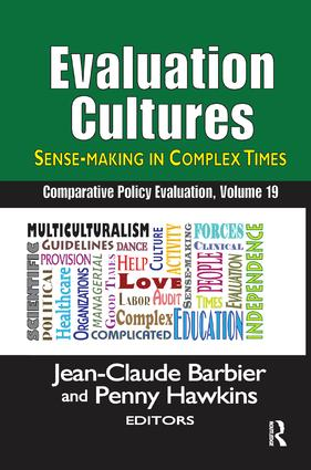 Evaluation Cultures: Sense-Making in Complex Times, 1st Edition (Paperback) book cover