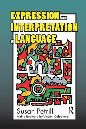 Expression and Interpretation in Language: 1st Edition (Paperback) book cover