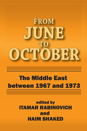 From June to October: Middle East Between 1967 and 1973, 1st Edition (e-Book) book cover