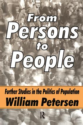From Persons to People: A Second Primer in Demography, 1st Edition (Paperback) book cover