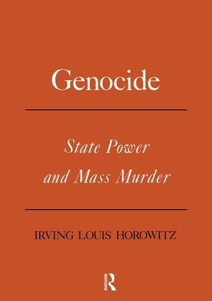 Genocide: State Power and Mass Murder book cover