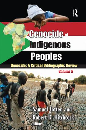 Genocide of Indigenous Peoples: A Critical Bibliographic Review book cover
