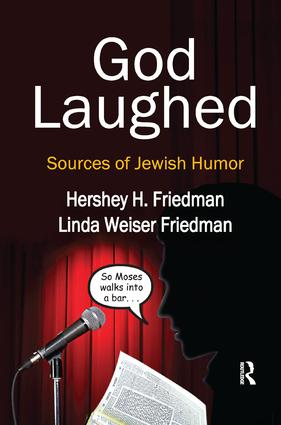 God Laughed: Sources of Jewish Humor, 1st Edition (Paperback) book cover
