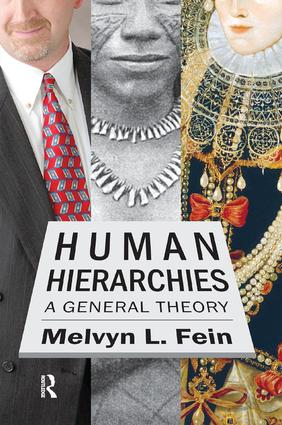 Human Hierarchies: A General Theory, 1st Edition (Paperback) book cover
