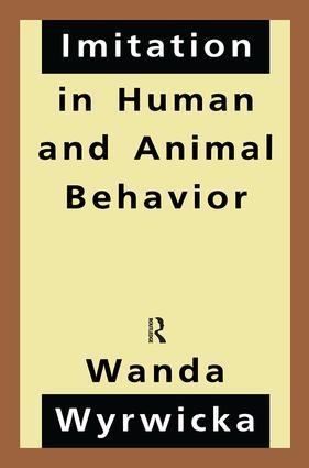 Imitation in Human and Animal Behavior