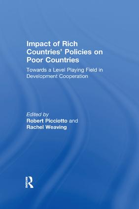 Impact of Rich Countries' Policies on Poor Countries: Towards a Level Playing Field in Development Cooperation, 1st Edition (Paperback) book cover