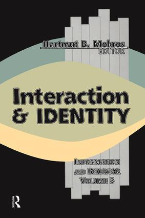 Interaction and Identity: 1st Edition (Paperback) book cover