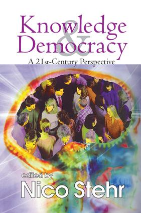 Knowledge and Democracy: A 21st Century Perspective, 1st Edition (Paperback) book cover