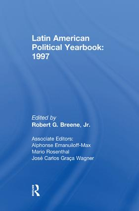Latin American Political Yearbook: 1997 book cover
