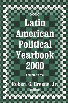 Latin American Political Yearbook: 2000, 1st Edition (e-Book) book cover