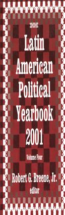Latin American Political Yearbook: 2001, 1st Edition (Paperback) book cover