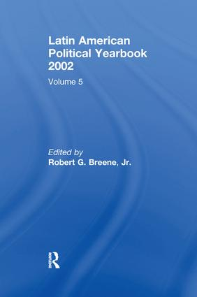 Latin American Political Yearbook: 2002, 1st Edition (Paperback) book cover