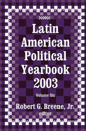 Latin American Political Yearbook: 2003, 1st Edition (e-Book) book cover