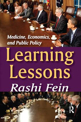 Learning Lessons: Medicine, Economics, and Public Policy book cover