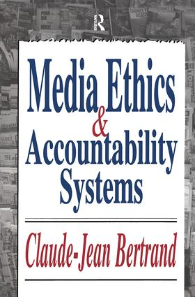 Media Ethics and Accountability Systems: 1st Edition (Paperback) book cover