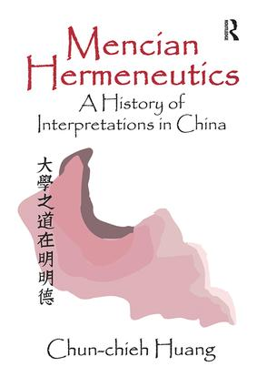 Mencian Hermeneutics: 1st Edition (Paperback) book cover