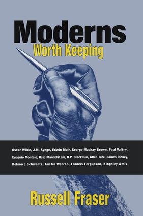 Moderns Worth Keeping: 1st Edition (Paperback) book cover