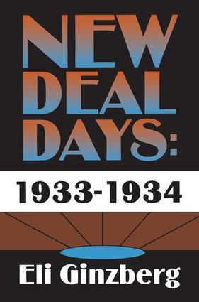 New Deal Days: 1933-1934