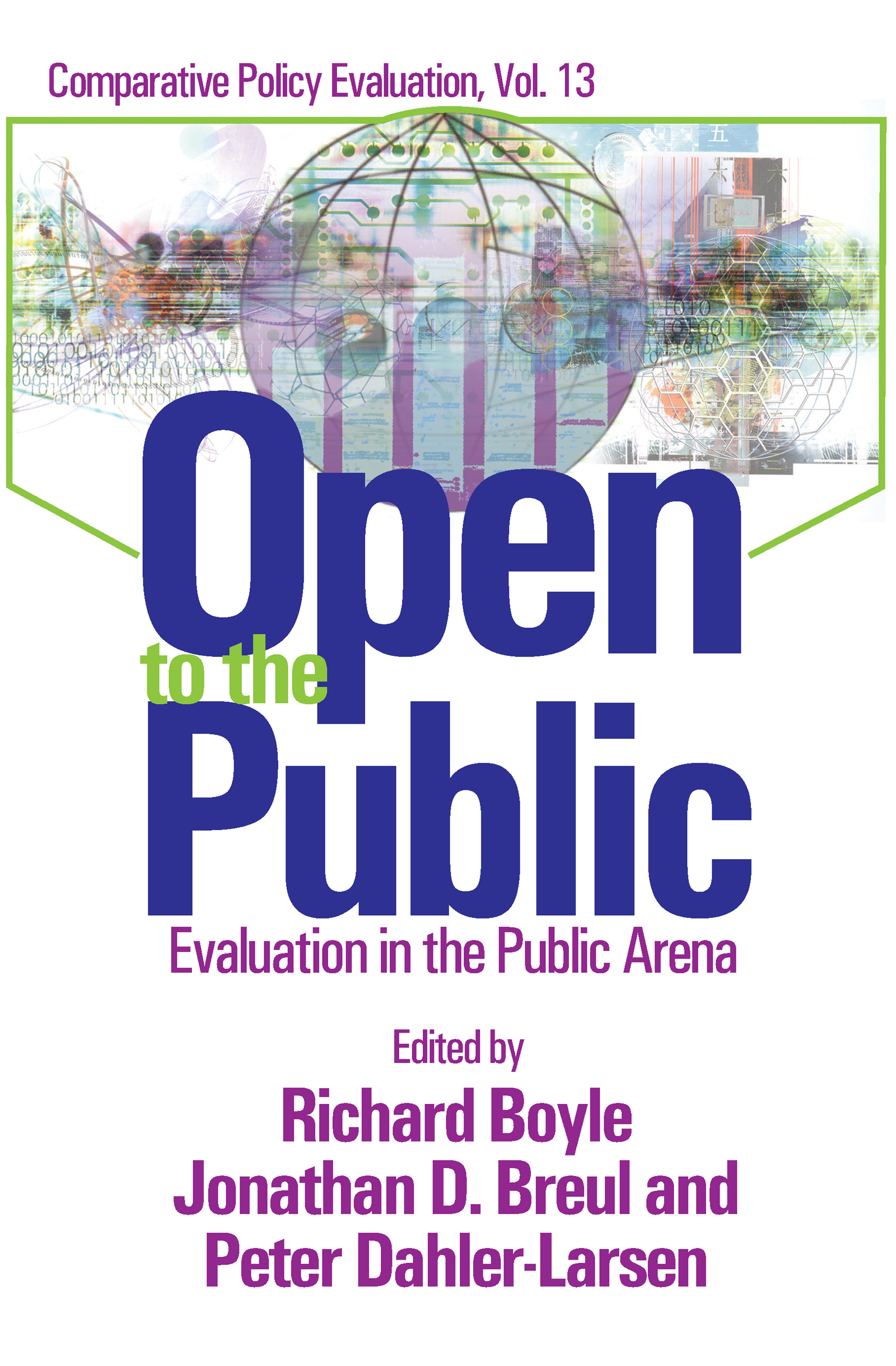 Open to the Public: Evaluation in the Public Sector, 1st Edition (Paperback) book cover
