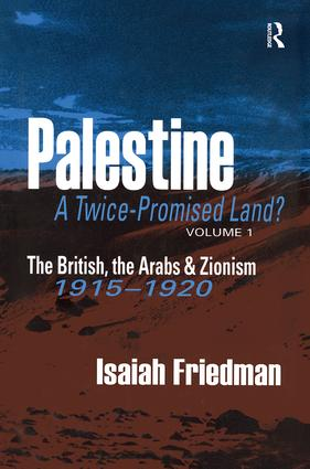 Palestine: A Twice-Promised Land?: 1st Edition (Paperback) book cover