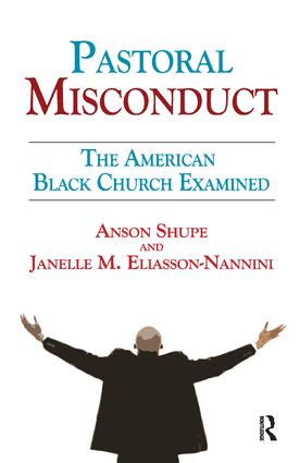Pastoral Misconduct: The American Black Church Examined, 1st Edition (Paperback) book cover