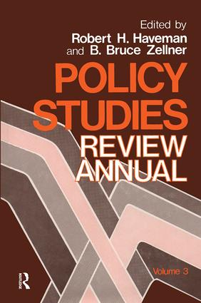 Policy Studies: Review Annual: Volume 3, 1st Edition (Paperback) book cover