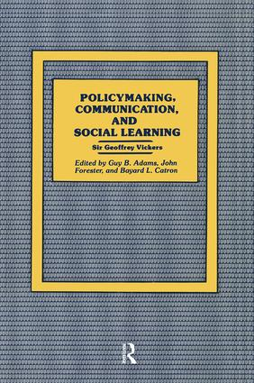 Policymaking, Communication, and Social Learning: 1st Edition (Paperback) book cover