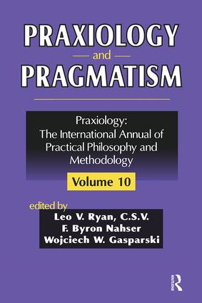 Praxiology and Pragmatism: 1st Edition (Paperback) book cover
