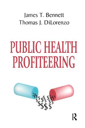 Public Health Profiteering book cover