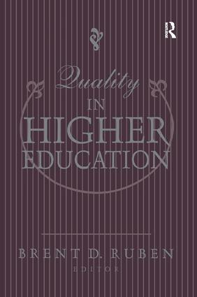 Quality in Higher Education: 1st Edition (Paperback) book cover