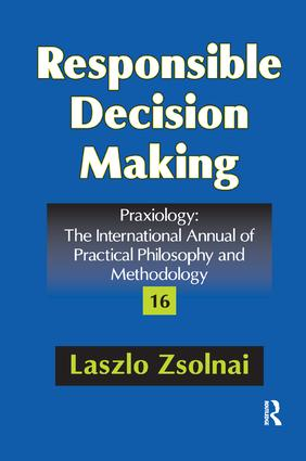 Responsible Decision Making: 1st Edition (Paperback) book cover
