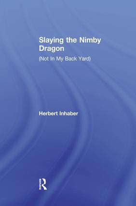Slaying the Nimby Dragon book cover