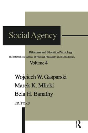 Social Agency: Dilemmas and Education, 1st Edition (Paperback) book cover