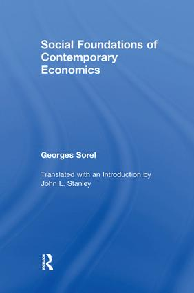 Social Foundations of Contemporary Economics